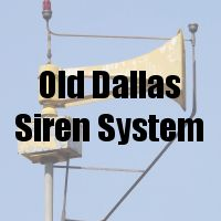 Old Dallas Siren System