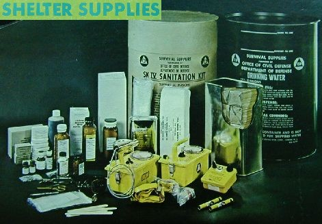 Fallout Shelter Supplies